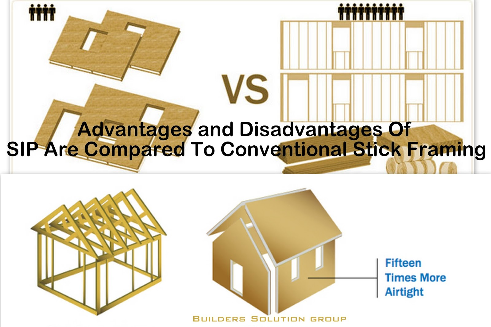 Advantages and disadvantages of sip are compared to for Diy structural insulated panels