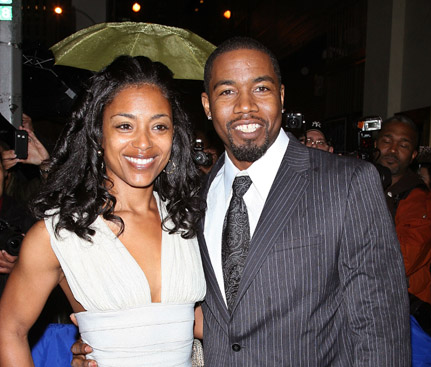 Michael Jai White Whit Wife Images 2011 All About Hollywood