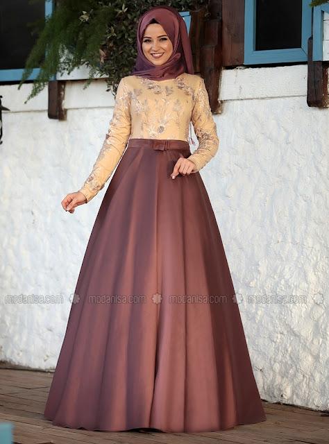 Les 15 Robes de Soirées Hijab les plus Chics - Style 2018