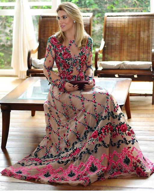 vestido de festa madrinha de casamento ou formanda