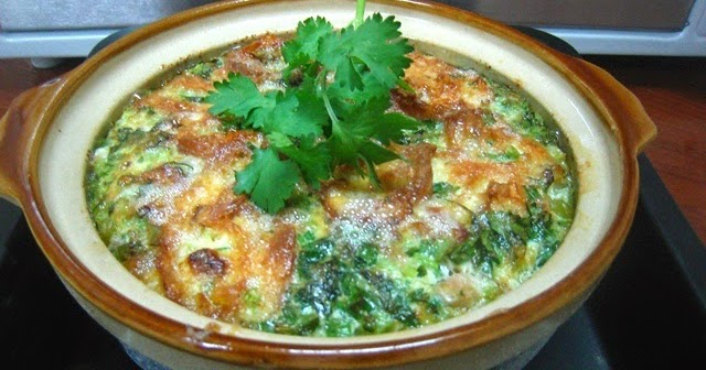 民以食為天: 雞蛋焗魚腸