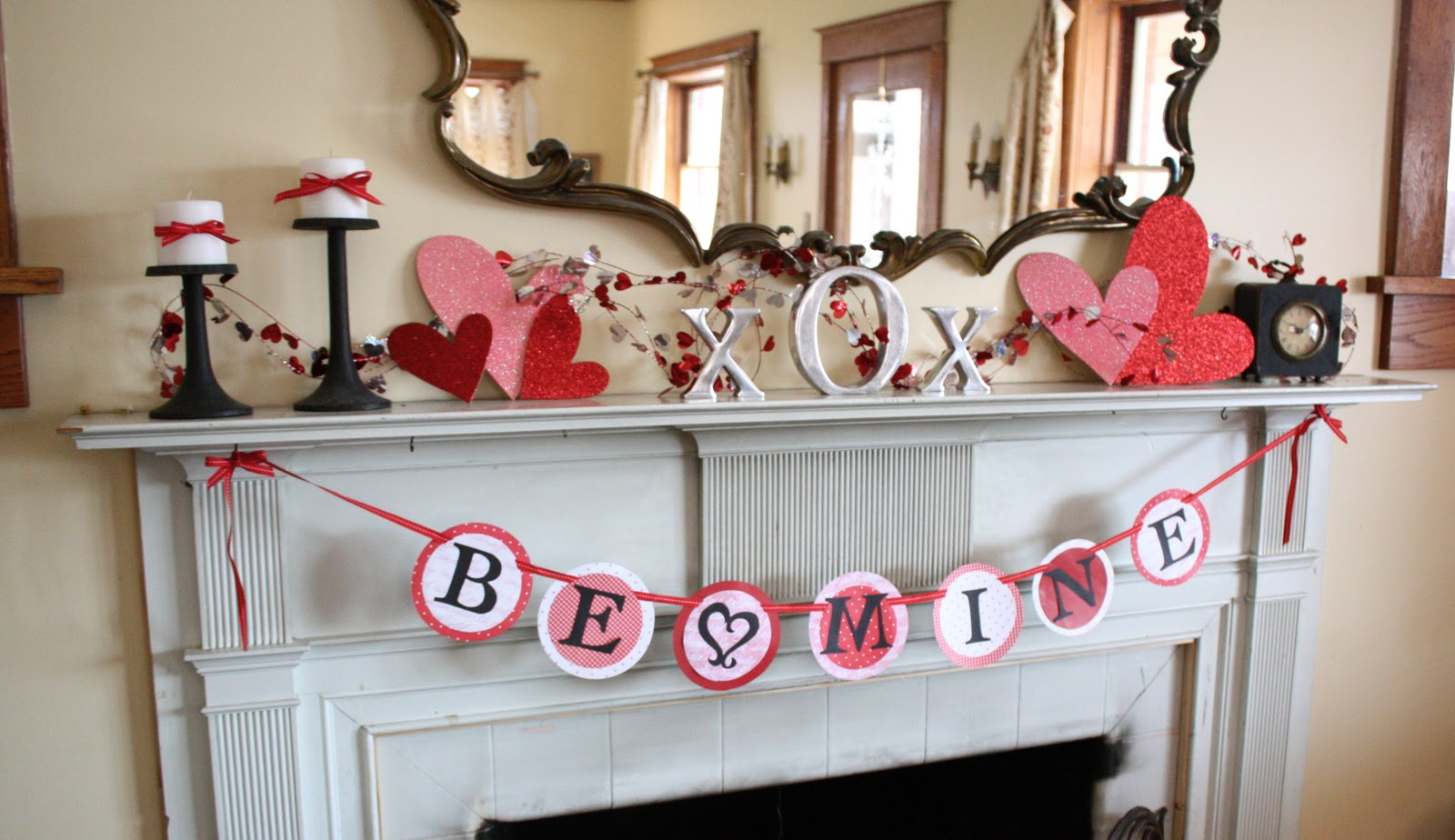 Valentine 39 s day decorate bedroom modern diy art designs for B day decoration photos