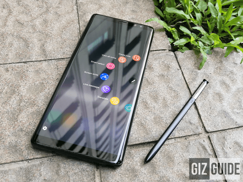 The Note 8 has a smarter and better S Pen.