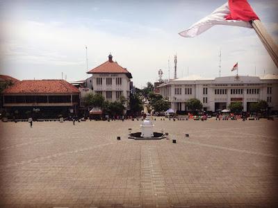 foto kawasan kota tua