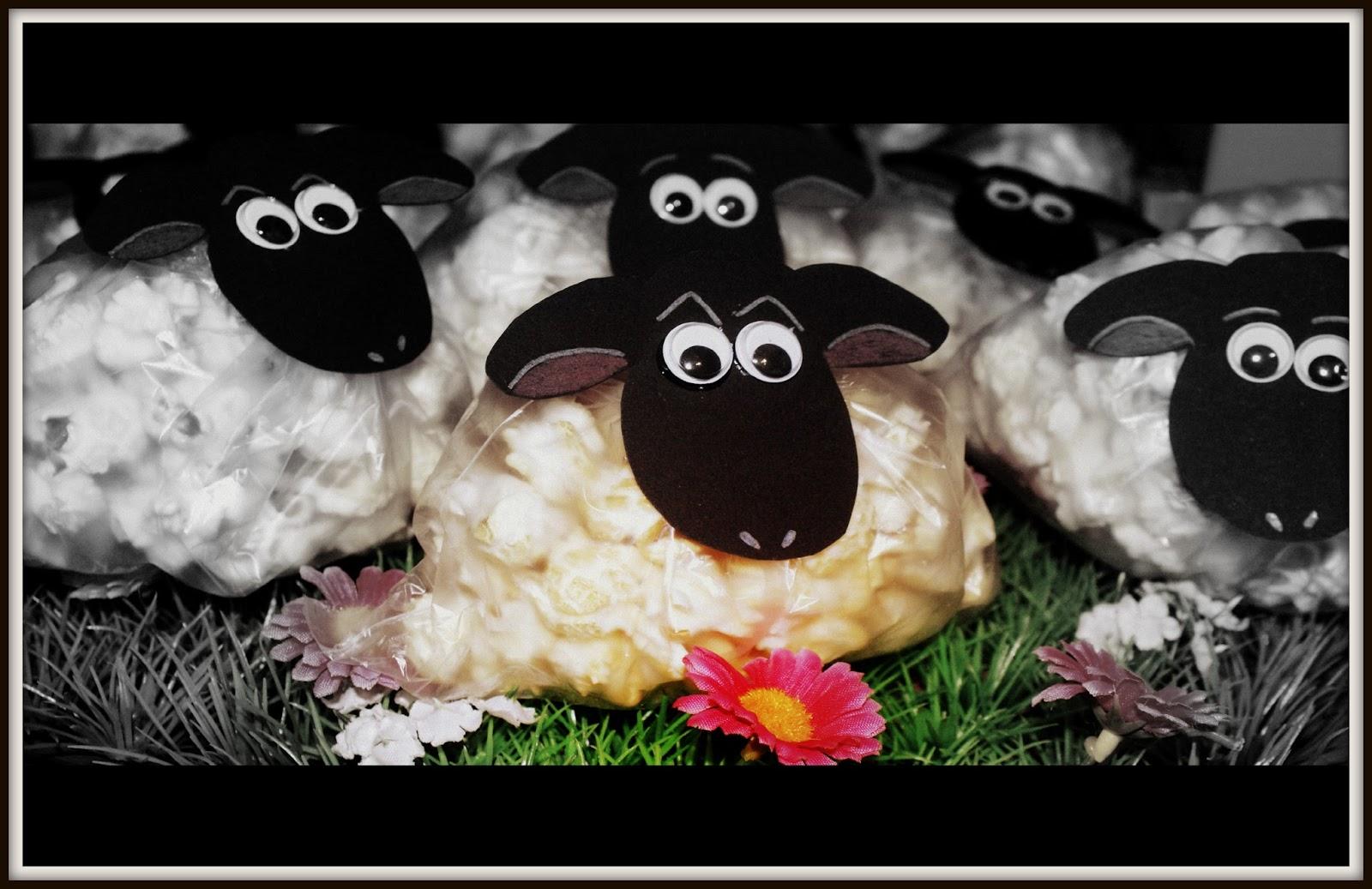 Popcorn Schafe | Das Backschaaf