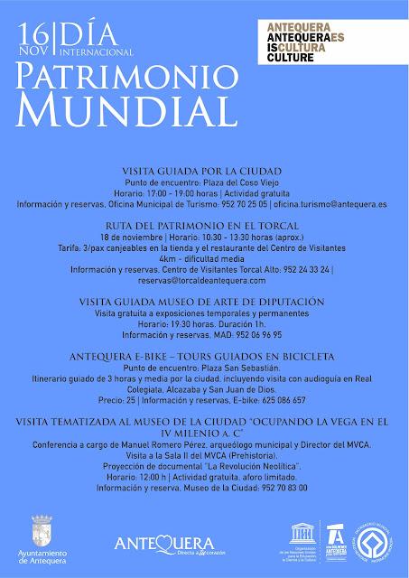 16 de noviembre: Día del Patrimonio Mundial