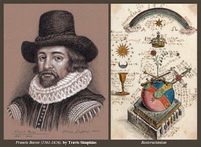 Francis Bacon. Philosopher, Statesman, Scientist. New Atlantis. Rosicrucianism. by Travis Simpkins