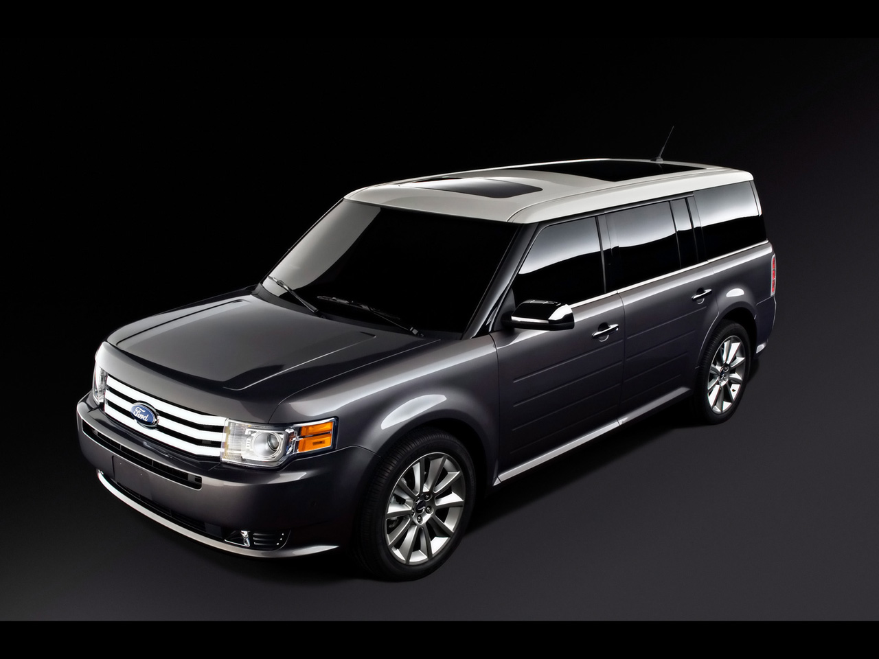 Hd Wallpapers  2011 Ford Flex Titanium Wallpapers
