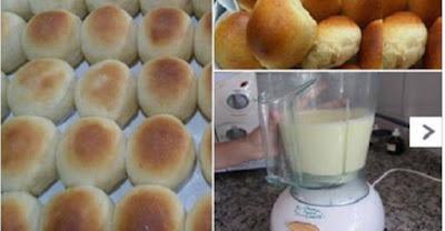 Como fazer  pão de liquidificador, você pouco irá à padaria - é simplesmente rápido,  prático e muito econômico!