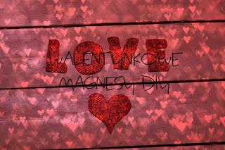 Walentynkowe magnesy DIY