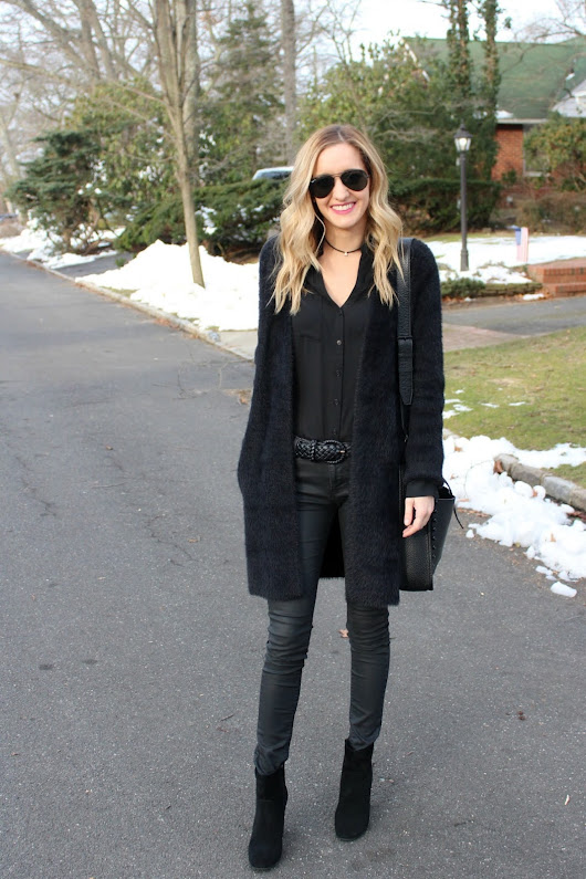 NON BORING ALL BLACK OUTFIT