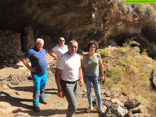 El Cabildo trabaja en la protección y accesibilidad a la Cueva del Tendal