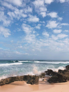 Rock Formation in G Beach Resort