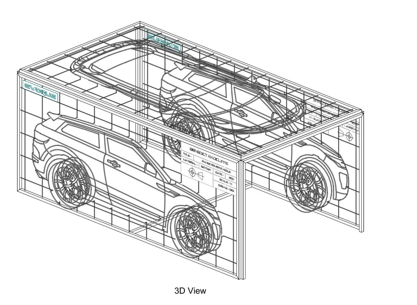 News Range Rover Evoque Geneva 1st March