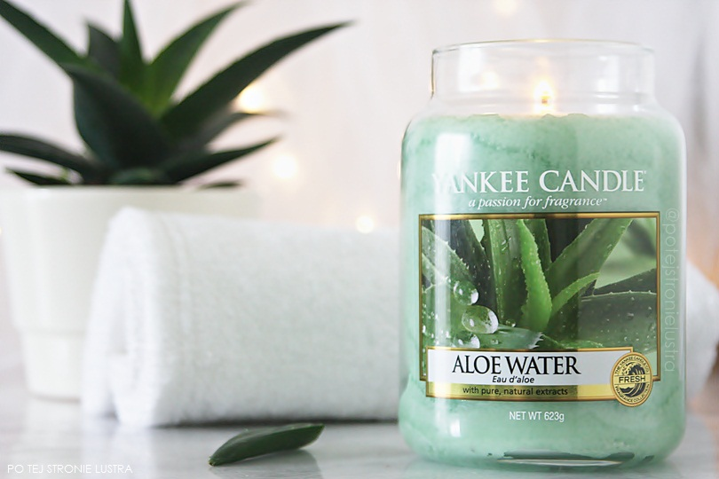 świeca zapachowa yankee candle aloes