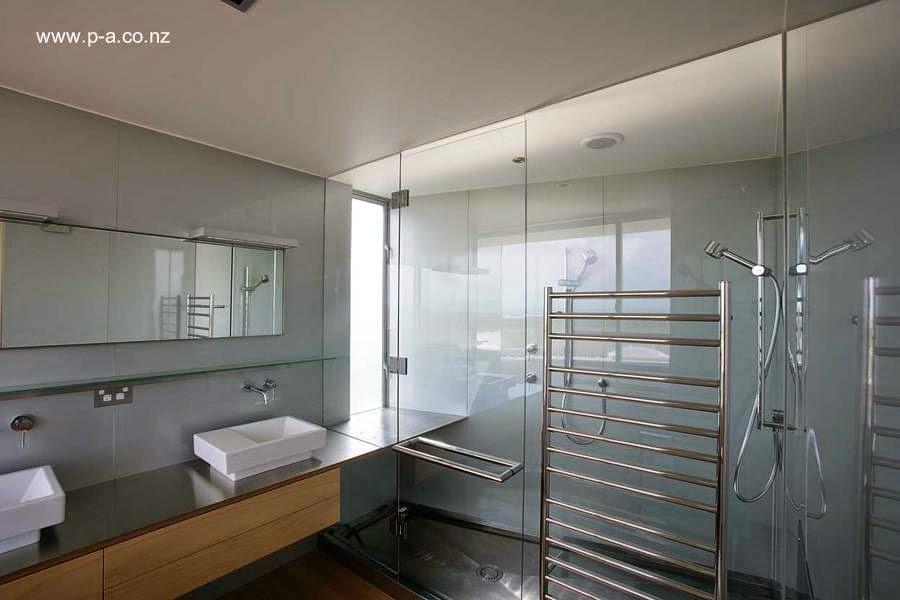 Baño en la ampliación de la casa
