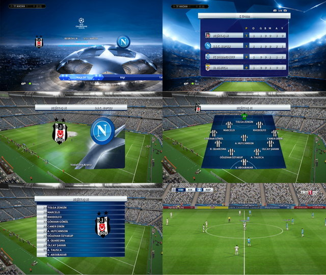UCL & UEL 2016-2017 Graphic Patch V2 - PES 2013