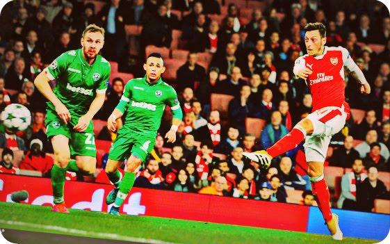 Arsenal Menang Telak, Taklukkan Ludogorets Razgrad 6-0