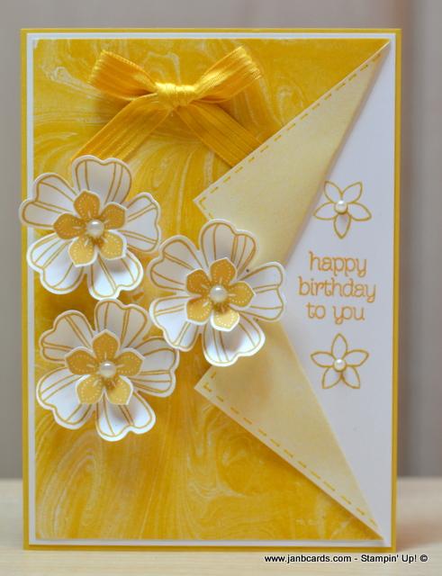 Feminine flowery collar fold card janb cards feminine flowery collar fold card m4hsunfo