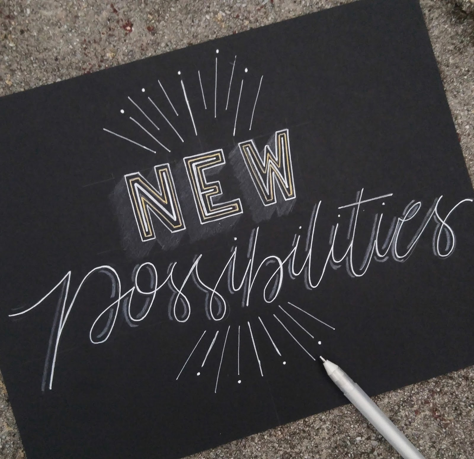 Hand Lettering New Possibilities