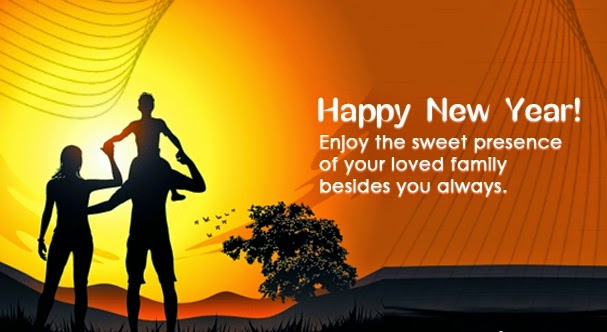 Happy New Year 2016 Wishes HD Wallpapers for wife