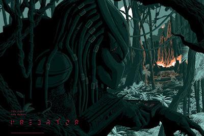 Predator Screen Print by Florey x Bottleneck Gallery x Acme Archives