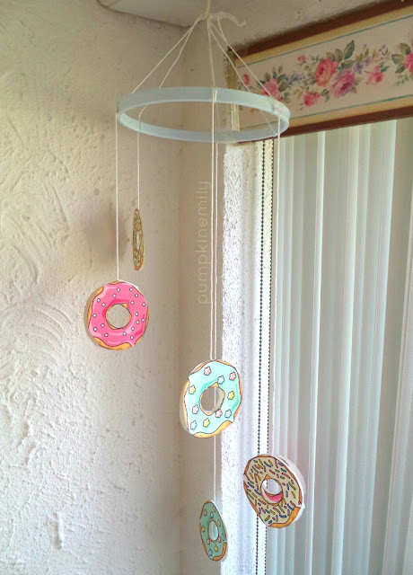 DIY Donut Mobile