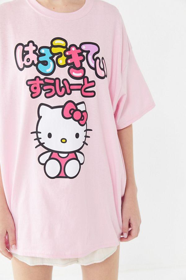 e59340ad4 Hello Kitty Cropped Hoodie Sweatshirt. $59.00. Hello Kitty x Keith Haring  ...