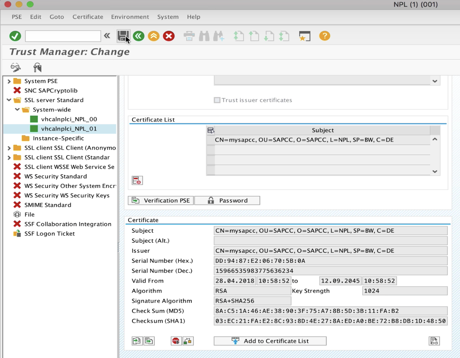 SAP ABAP Central: Configure SAPCC + NW ABAP for Principal