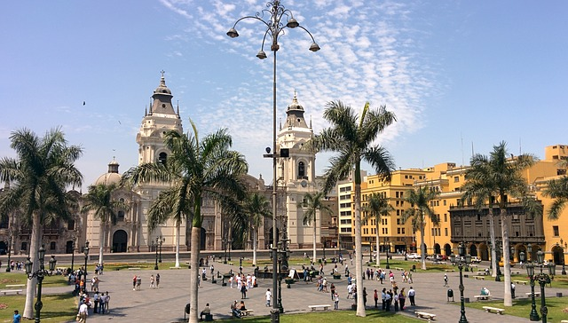 Lima's Plaza de Armas, Peru, Travel, Tourist Attractions, Tourism,