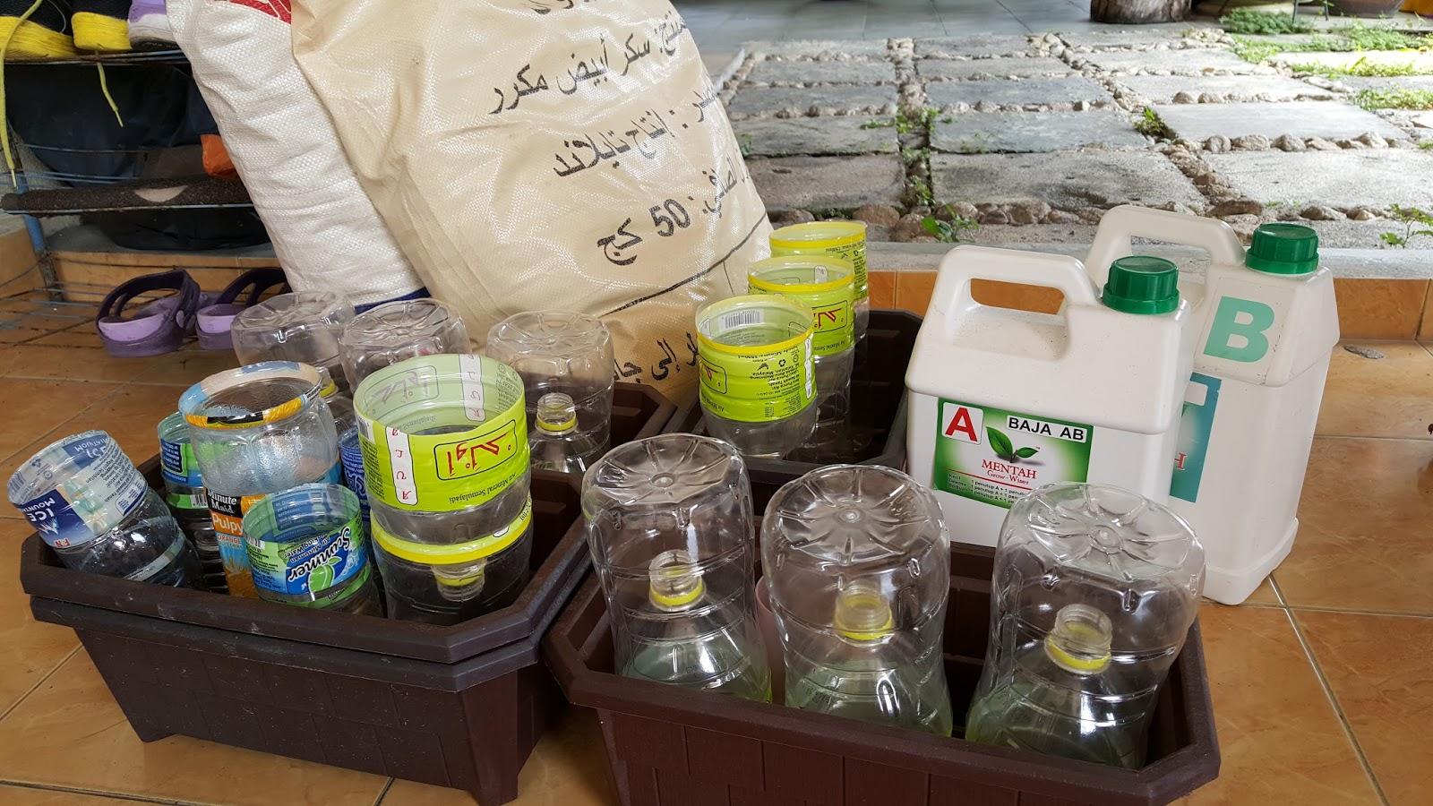 Bahan utama tanaman Hidroponik