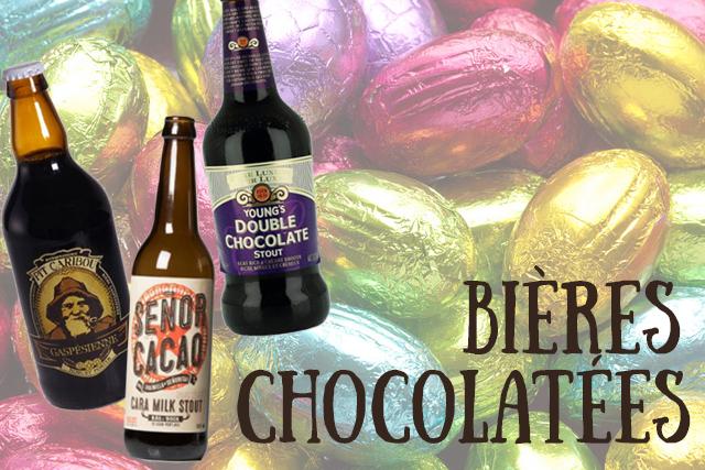 bières chocolat cacao noire stout