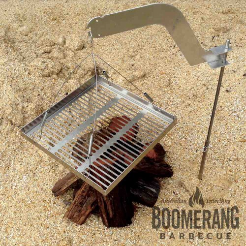 boomerang BBQ easy camp cooking idea for campers