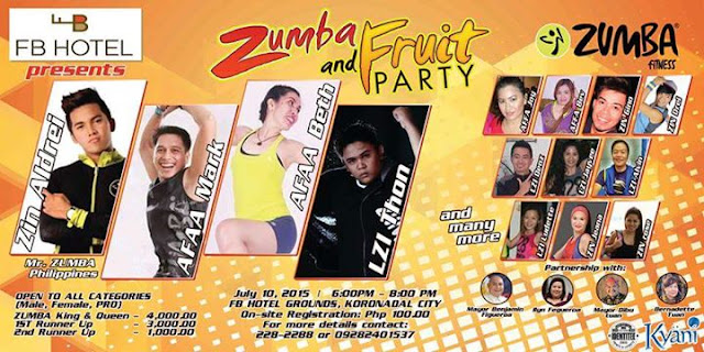 Zumba and Fruit Party at FB Hotel