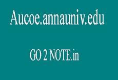 AUCOE.ANNAUNIV.EDU RESULTS 2018 – REJINPAUL RESULTS 2018