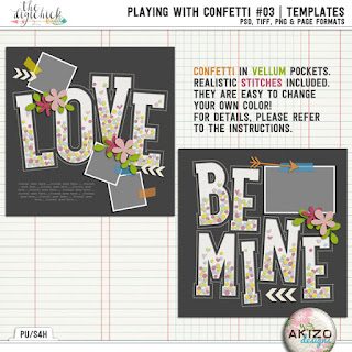 Playing With Confetti_03 by Akizo Designs