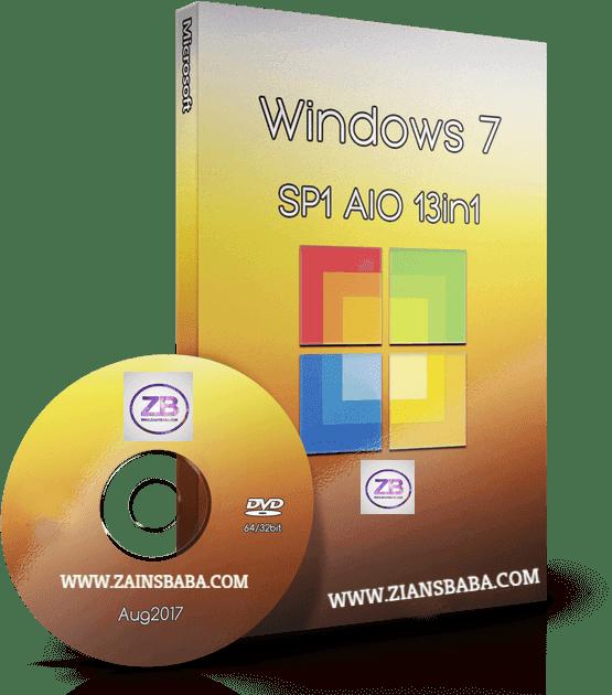Windows 7 AIO SP1 (x86/x64) Multilanguage