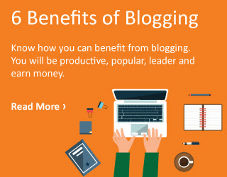 Benefits of the Blogging