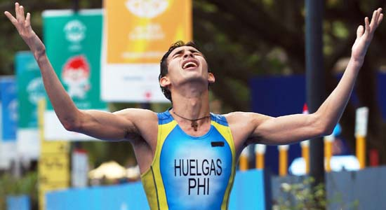 Nikko Huelgas Triathlete 2nd SEA Games gold for Philippines