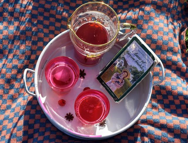 Marilla's Raspberry Cordial Recipe Anne of Green Gables #shop #cbias