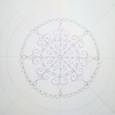 drawing your own mandalas