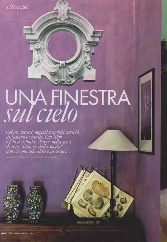 Decor inspiration at home with marta mariani cool chic - Una finestra sul cielo ...