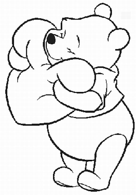 Winnie the Pooh Coloring Pages | Learn To ColoringEeyore Coloring Pages By Number
