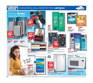 London Drugs Weekly Flyer Circulaire August 16 - 22, 2018