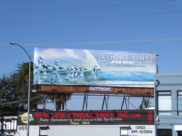 Rogue One Stormtroopers billboard