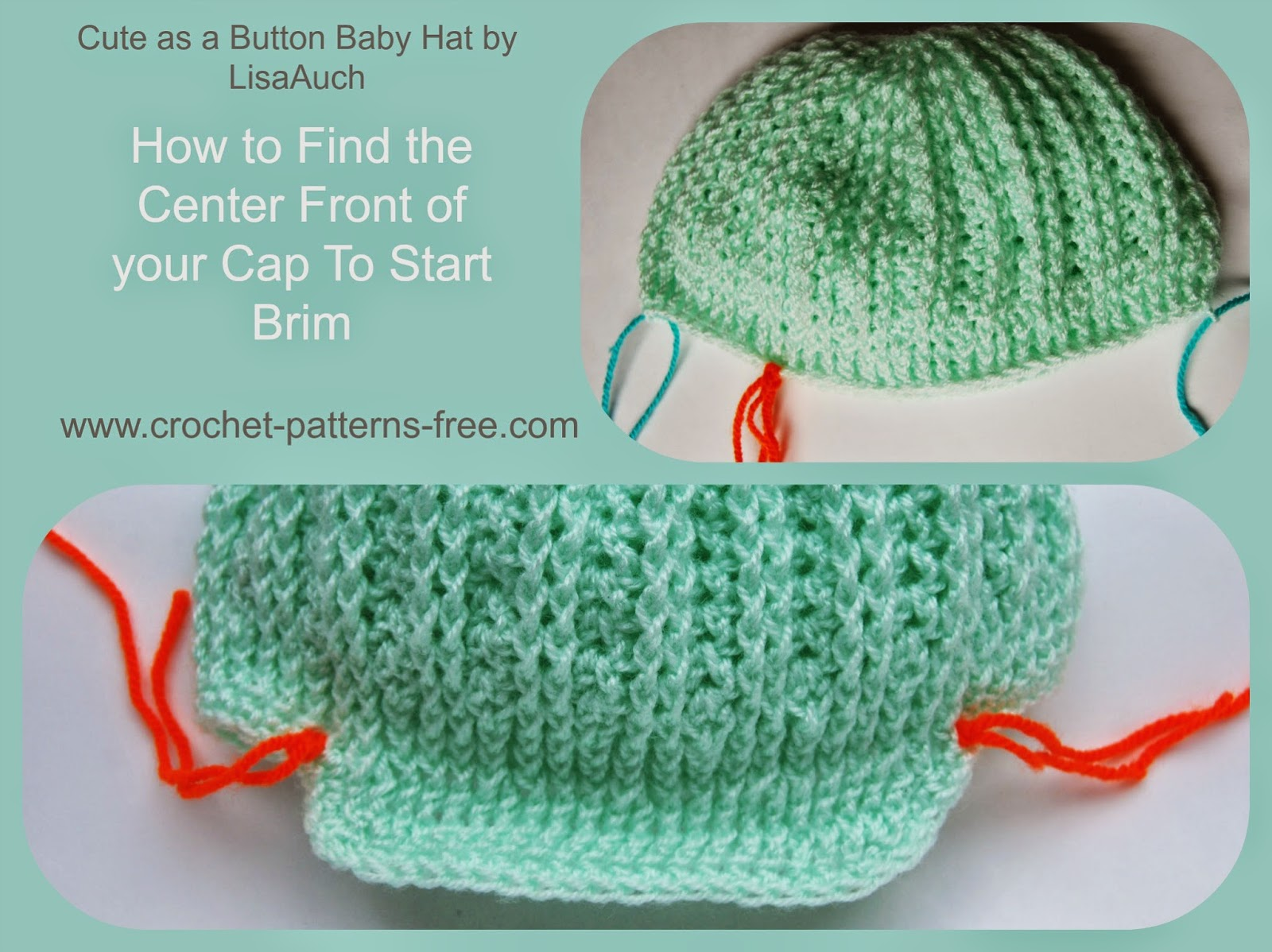 free crochet pattern boys brim hat-cap-crochet baby hat patterns free