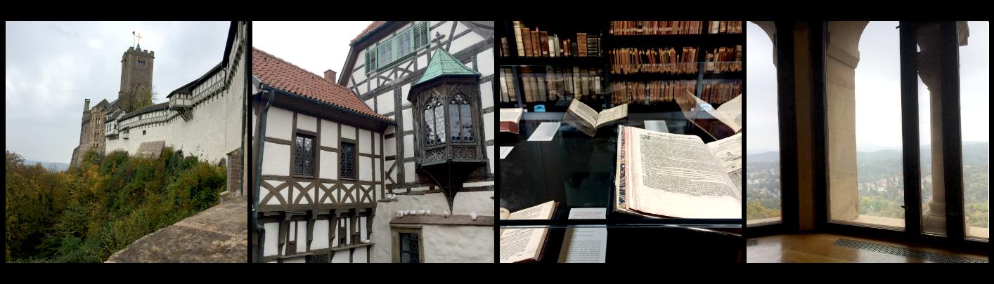 Weimar und die Wartburg in Eisenach besuchen.