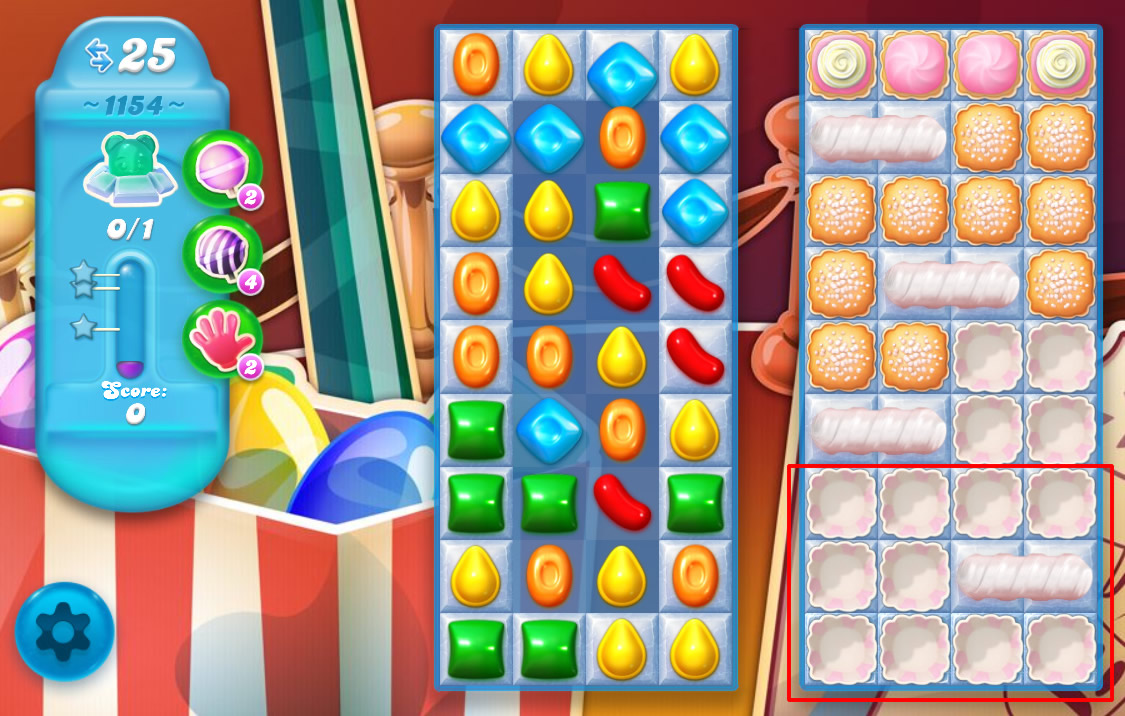 Candy Crush Soda Saga level 1154