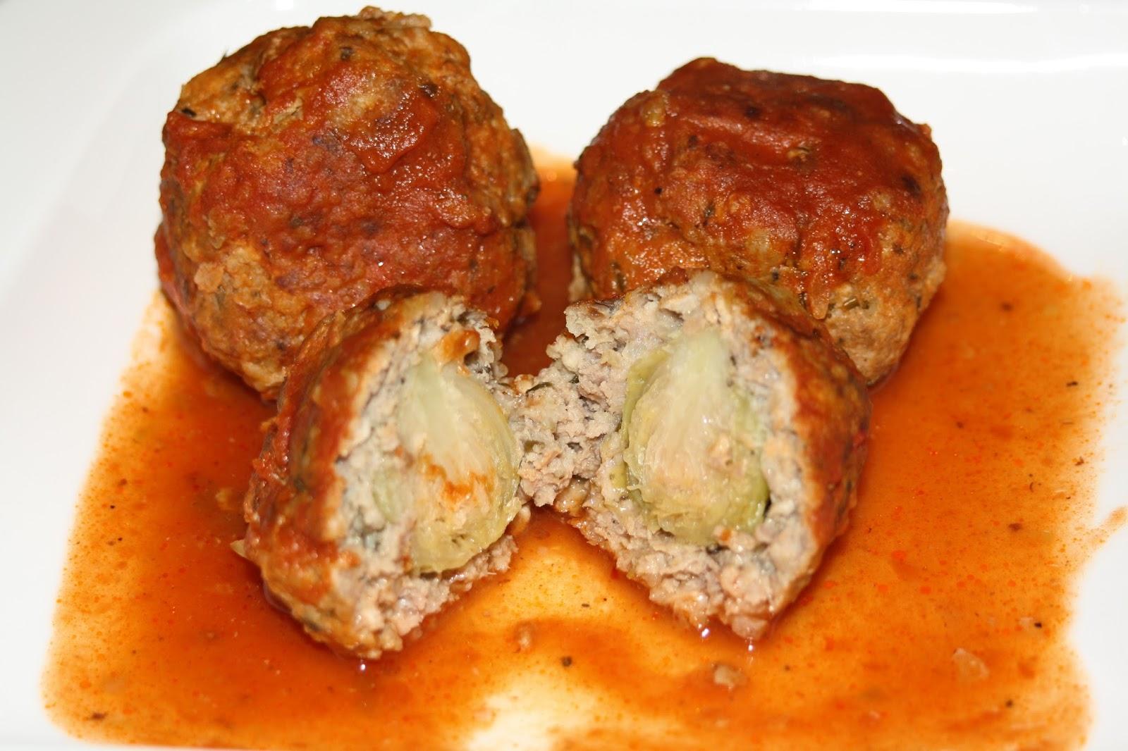 Boulettes de viande farcies aux choux de bruxelles blogs - Cuisiner les choux de bruxelle ...