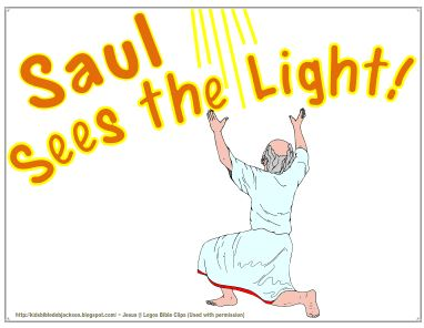 Saul+Sees+Light